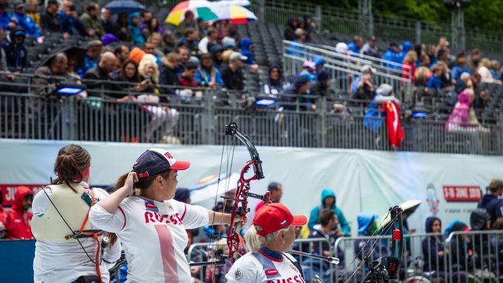 сборная России по стрельбе из лука ПОДА на ЧМ в Нидерландах