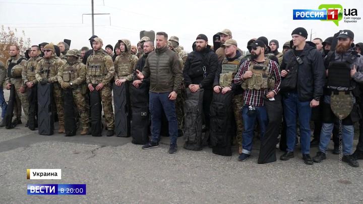 Нацисты хотят войны. В Донбасс стекаются украинские радикалы
