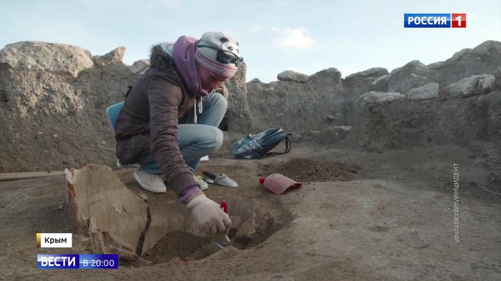 На месте уникальной усадьбы боспорского царя недалеко от Керчи появится музей