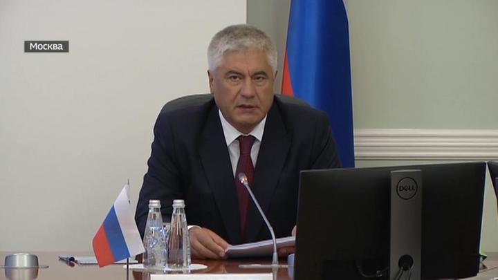 Колокольцев встретился с главой МВД Таджикистана