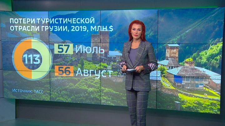 Грузия потеряла 113 млн долларов из-за закрытия авиасообщения с Россией