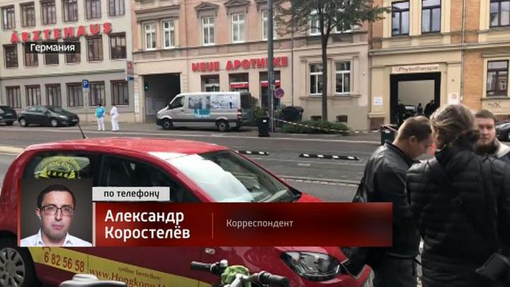 """Стрельба в немецком Галле: на синагогу напали """"спецназовцы"""""""