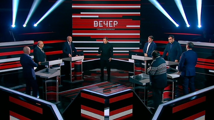 Вечер с Владимиром Соловьевым. Эфир от 10 октября 2019 года