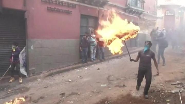 Нефтяная система Эквадора заблокирована протестующими