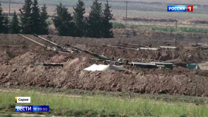 """""""Источник мира"""": турецкие танки вошли на север Сирии, по курдам с воздуха бьют F-16"""