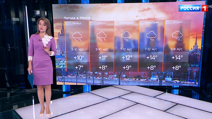 Скандинавский циклон принес в столицу потепление и дожди