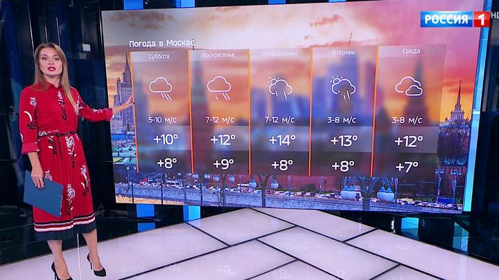 Осадки в столице в ближайшие дни продолжатся, но будет тепло