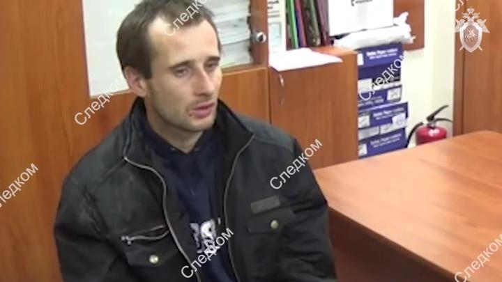 Допрос предполагаемого убийцы девочки в Саратове сняли на видео
