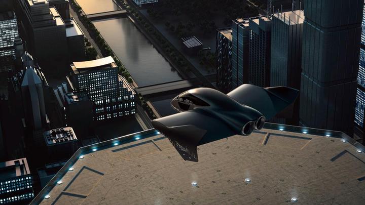 """Boeing и Porsche создают электрический """"самолетомобиль"""""""