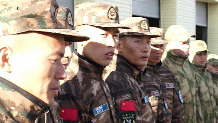 Росгвардия и внутренние войска КНР отработали навыки антитеррористического взаимодействия