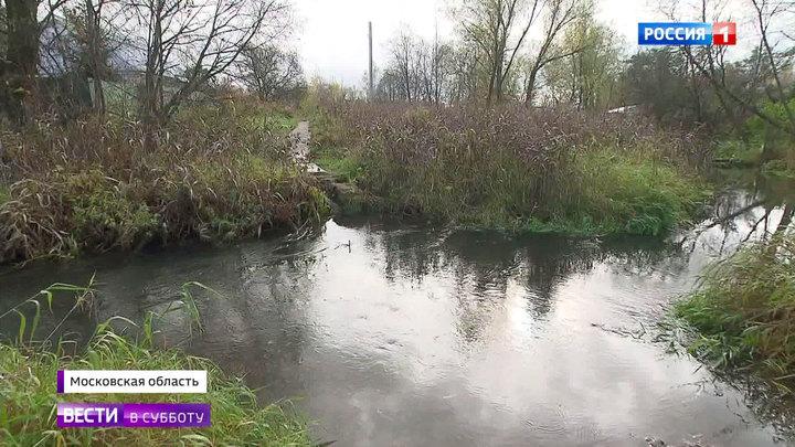В подмосковной деревне Деденево бесследно исчез мост