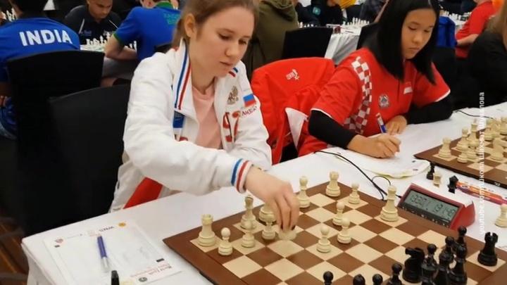 Юные шахматисты из России уверенно победили на ЧМ в Индии