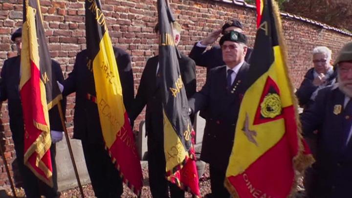 В бельгийском Ребеке открыли мемориал советским партизанам