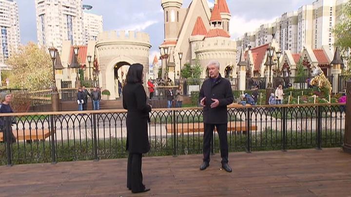 Собянин рассказал о Большом кольце метро и золотой осени