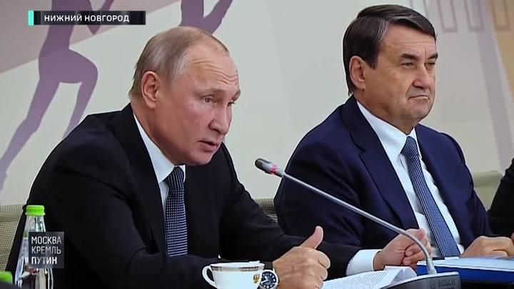Путин вспомнил, кто, как и когда сломал ему нос