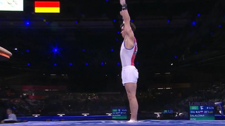 Российский гимнаст Нагорный завоевал бронзу в индивидуальном многоборье на Олимпиаде-2020