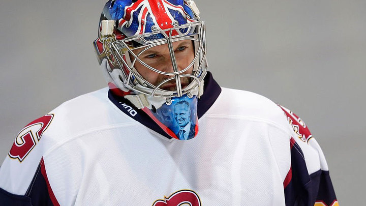 Петр Чех назван лучшим игроком своего дебютного хоккейного матча