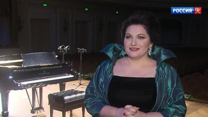Хибла Герзмава выступила в Большом зале Московской консерватории