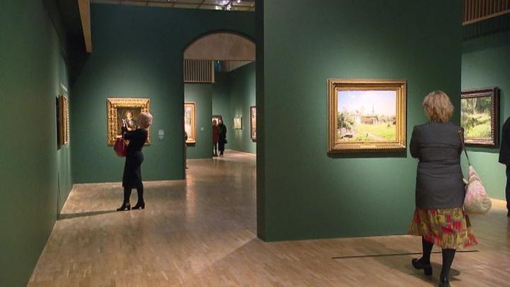 На Крымском валу открылась выставка работ Поленова
