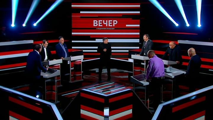Вечер с Владимиром Соловьевым. Эфир от 16 октября 2019 года