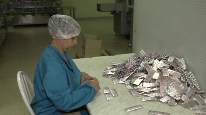 В аптеках Донецка и Луганска появляется все больше местных лекарств