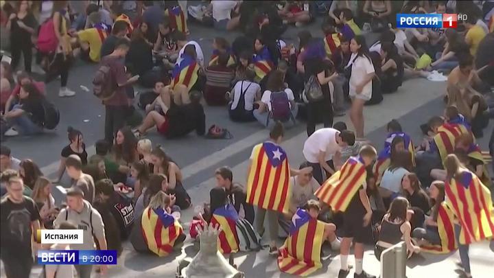 Барселона готовится к всеобщей забастовке