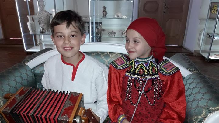 Участники Российской детской фольклорной Ассамблеи (2019) Фото Ирины Ушановой