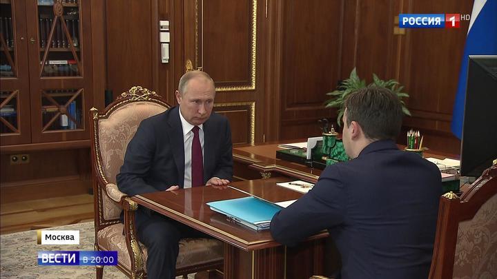 Губернатор Ивановской области рассказал президенту о развитии транспортной инфраструктуры