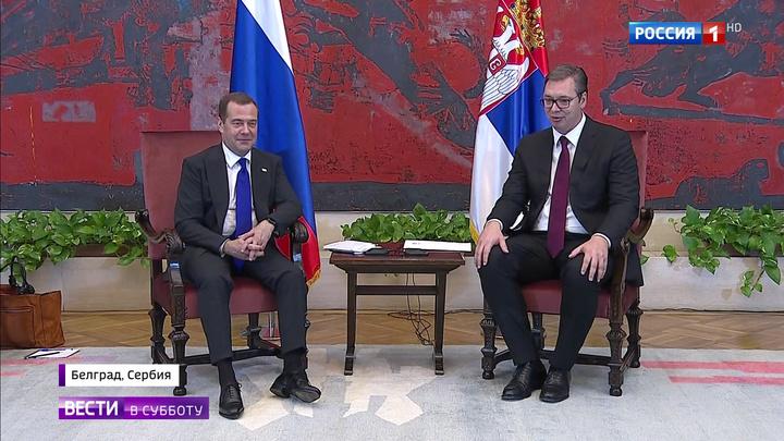 Медведев подчеркнул важность сохранения исторической правды