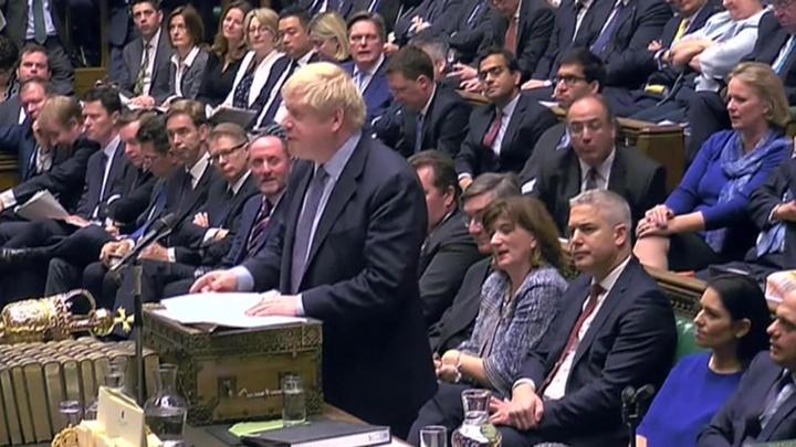 Джонсон написал Туску письмо с просьбой отсрочить Brexit до 31 января 2020 года