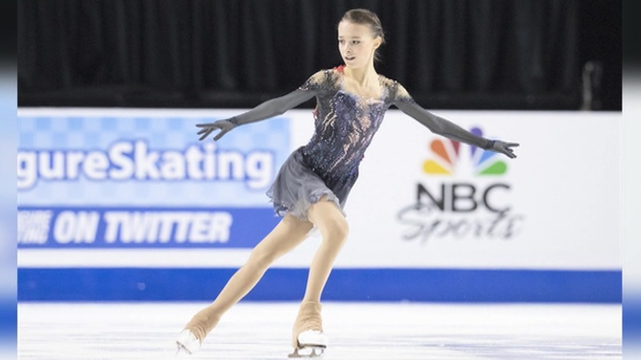 Фигуристка Анна Щербакова выиграла Skate America