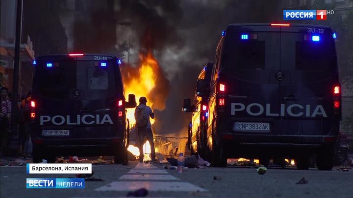 Народное восстание в Каталонии: улица больше не хочет слышать политиков