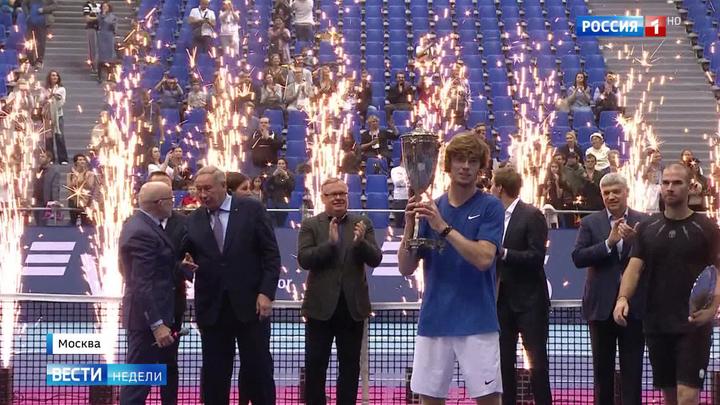 Победные новости: теннисист Рублев выирал Кубок Кремля, а фигуристка Щербакова - этап Гран-при в США