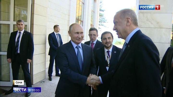 """Путин и Эрдоган договорились: """"Источник мира"""" влился в """"Бочаров ручей"""""""