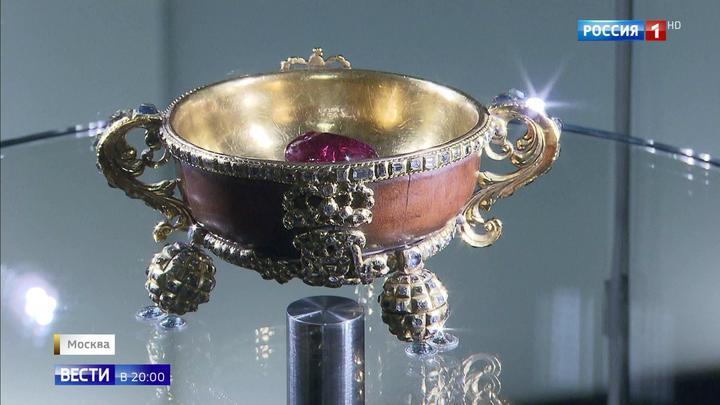В Историческом музее открылась выставка сокровищ из золотой кладовой