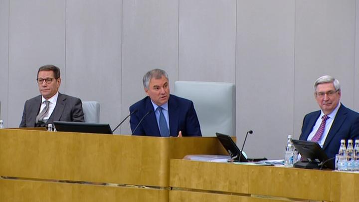 Госдума приняла в первом чтении проект федерального бюджета на 2020 год
