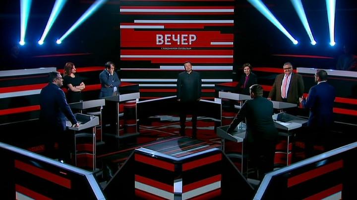 Вечер с Владимиром Соловьевым. Эфир от 25 октября 2019 года