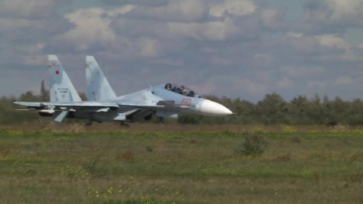 Авиация Черноморского флота провела учения в Крыму