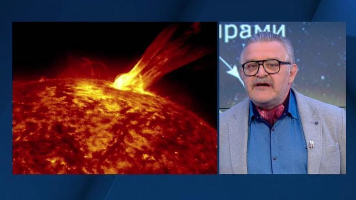 Мощная магнитная буря обрушилась на Землю