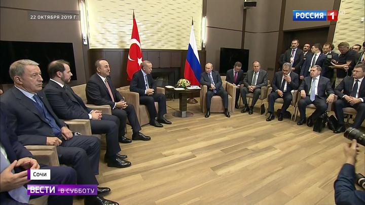 Договоренности Путина и Эрдогана: в Сочи удалось прекратить войну