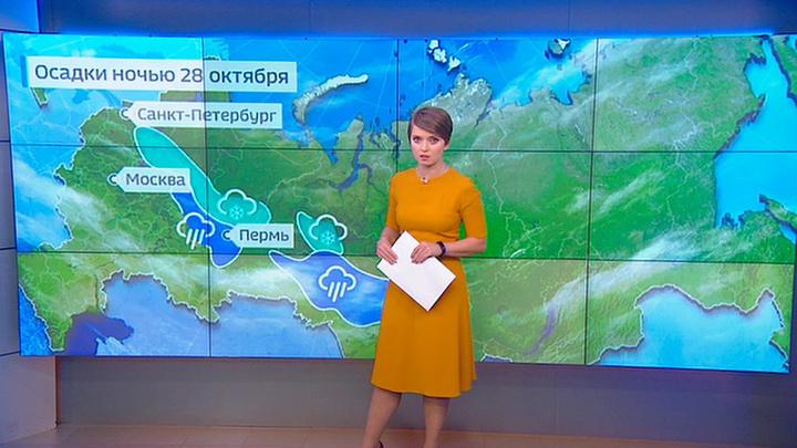 """""""Погода 24"""": шторм в Центральной России"""