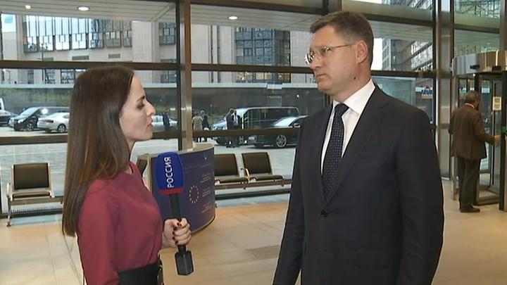 Александр Новак рассказал о ходе трехсторонних переговоров по транзиту газа через Украину