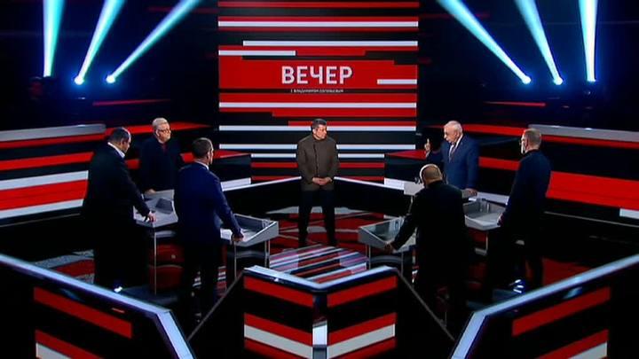 Вечер с Владимиром Соловьевым. Эфир от 31 октября 2019 года