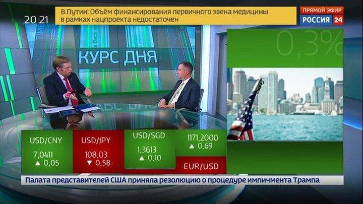 Экономика. Курс дня, 31 октября 2019 года