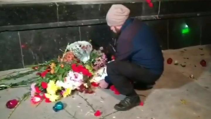 Одесские националисты разогнали акцию в защиту памятника маршалу Жукову