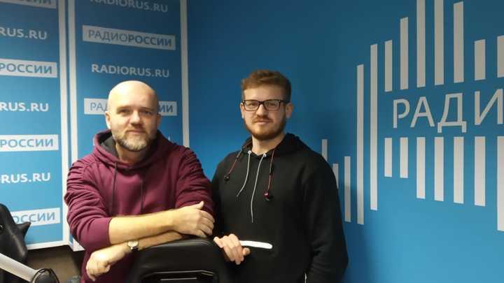 """Иван Майборода в студии """"Радио России"""""""
