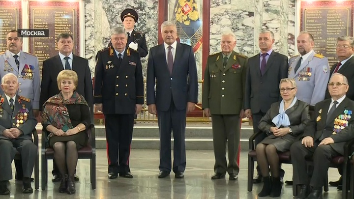 Колокольцев встретился с ветеранами МВД