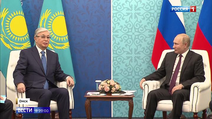 Президенты России и Казахстана в Омске: новые перспективы после форума