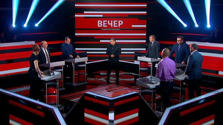 Вечер с Владимиром Соловьевым. Эфир от 8 ноября 2019 года