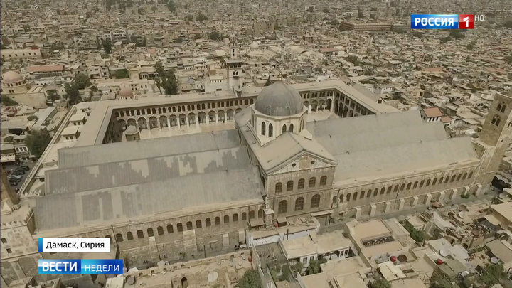 Мирный Дамаск глазами Евгения Поддубного